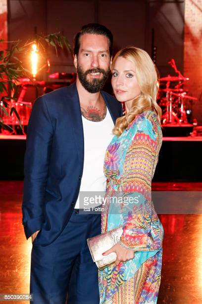 Alec Voelkel singer of the band BossHoss and his wife Johanna Michels attend the Dreamball 2017 at Westhafen Event Convention Center on September 20...