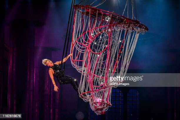 Alecia Beth Moore, known professionally as Pink performed a sold out show in Toronto.