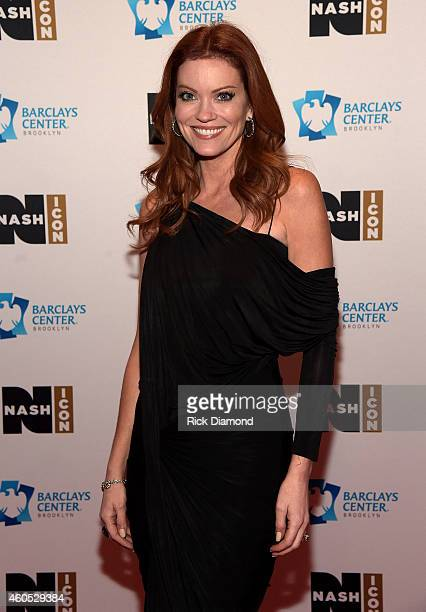 Alecia Davis of EXTRA TV attends the Inaugural Nash Icon ACC Awards postshow party honoring Reba as the first recipient of the NASH ICON Award at...