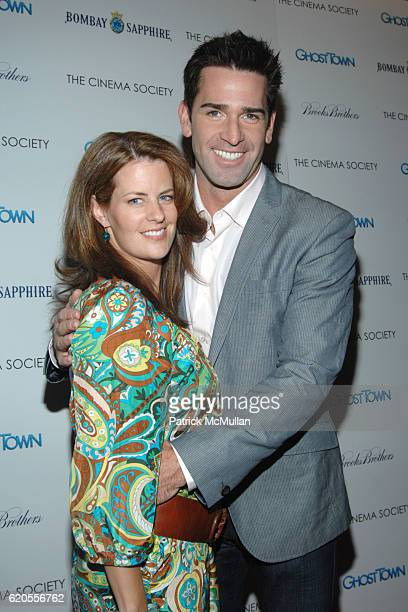 Alecia Hurst and Matt Walton attend THE CINEMA SOCIETY with BROOKS BROTHERS BOMBAY SAPPHIRE host a screening of GHOST TOWN at IFC Center on September...