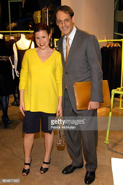 Alecia Licht and Jonathan Marder attend GILDA'S Club Worldwide Benefit at DKNY Flagship Store on September 28 2006 in New York City