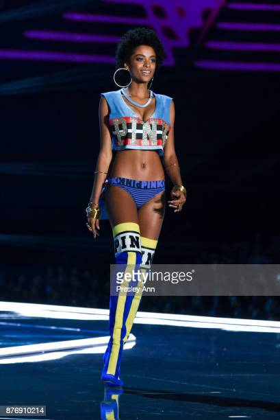 Alecia Morais attends 2017 Victoria's Secret Fashion Show In Shanghai Show at MercedesBenz Arena on November 20 2017 in Shanghai China