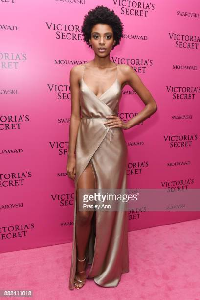 Alecia Morais attends 2017 Victoria's Secret Fashion Show In Shanghai After Party at MercedesBenz Arena on November 20 2017 in Shanghai China