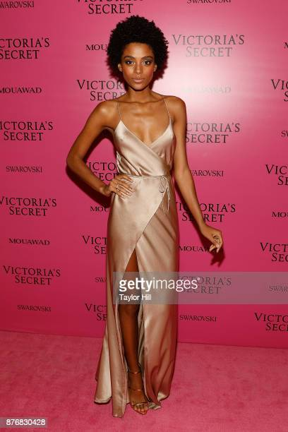 Alecia Morais attends the 2017 Victoria's Secret Fashion Show After Party on November 20 2017 in Shanghai China