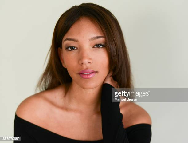 Alectra Griffis poses for portrait at The Artists Project on April 12 2017 in Los Angeles California