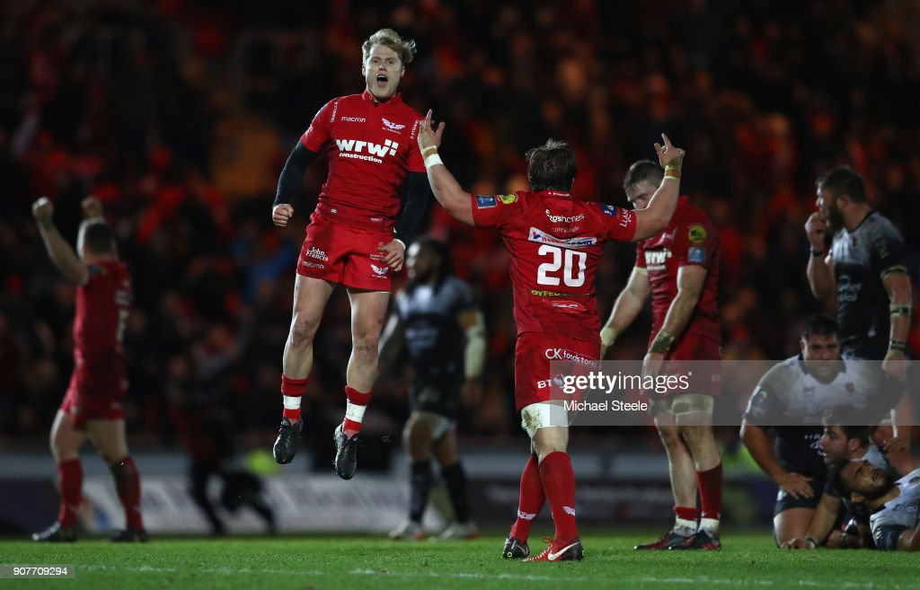 Scarlets v RC Toulon -  Champions Cup