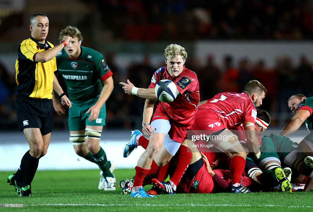 Scarlets v Leicester Tigers - European Rugby Champions Cup