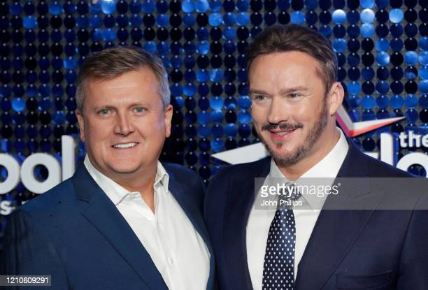 Aled Jones and Russell Watson attend The Global Awards 2020 at Eventim Apollo Hammersmith on March 05 2020 in London England