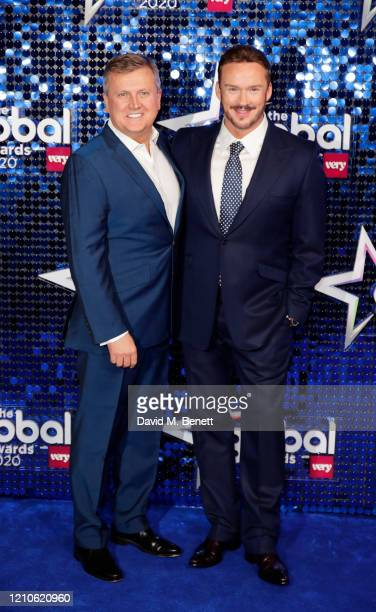 Aled Jones and Russell Watson attend The Global Awards 2020 at the Eventim Apollo Hammersmith on March 05 2020 in London England