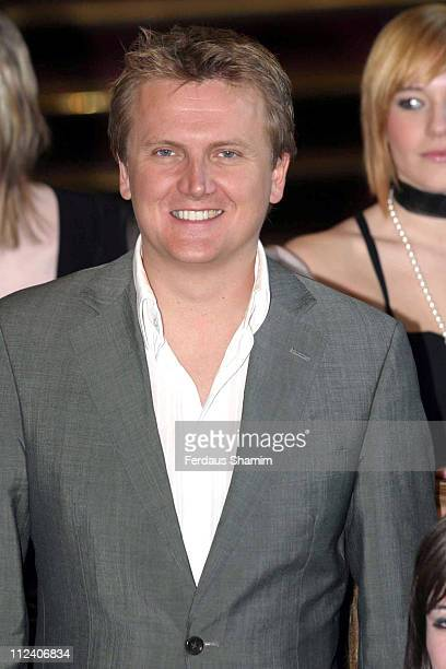 Aled Jones and the Girls Choir Sensation during Classic Response 2006 Photocall at Royal Albert Hall in London Great Britain