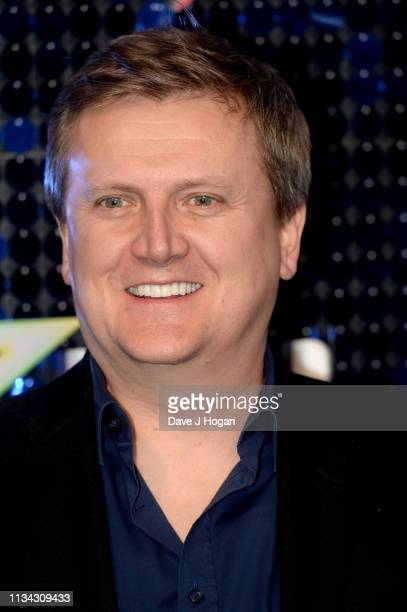 Aled Jones arrives at the The Global Awards with Verycouk at Eventim Apollo Hammersmith on March 07 2019 in London England