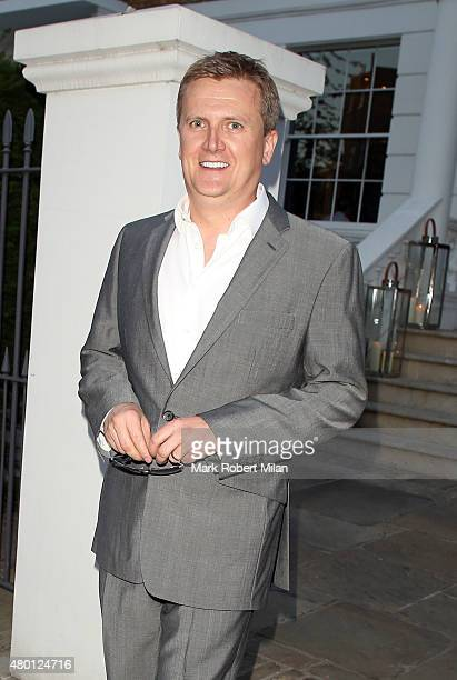 Aled Jones attending the ITV summer party in Notting Hil on July 9 2015 in London England