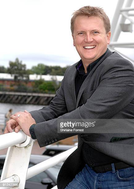 Aled Jones attends a photocall to launch White Christmas The Musical at The Lowry on September 29 2009 in Manchester England