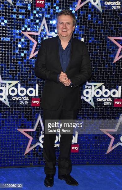 Aled Jones attends The Global Awards with Verycouk at the Eventim Apollo Hammersmith on March 7 2019 in London England