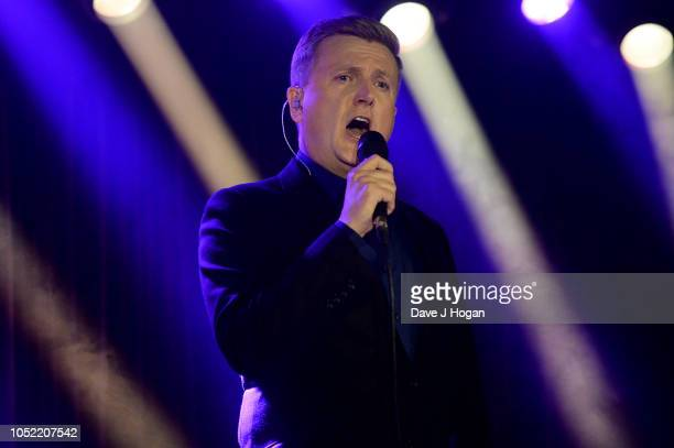 Aled Jones attends the 'In Harmony' album launch at The Arts Club on October 15 2018 in London England
