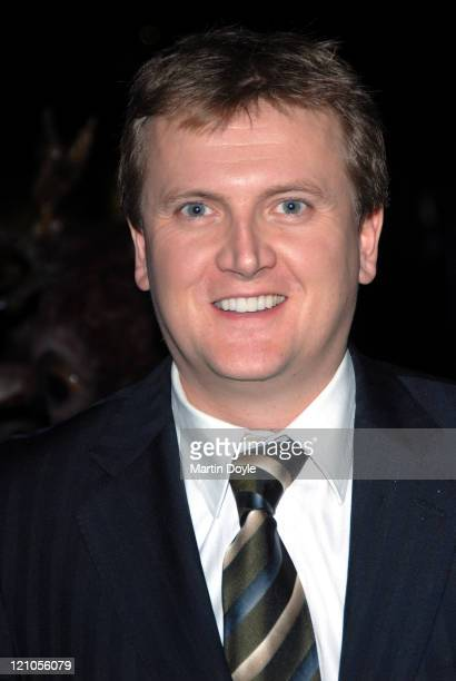 Aled Jones attends the press night of 'The Snowman' on December 6 2007 at the Peacock Theatre in London England