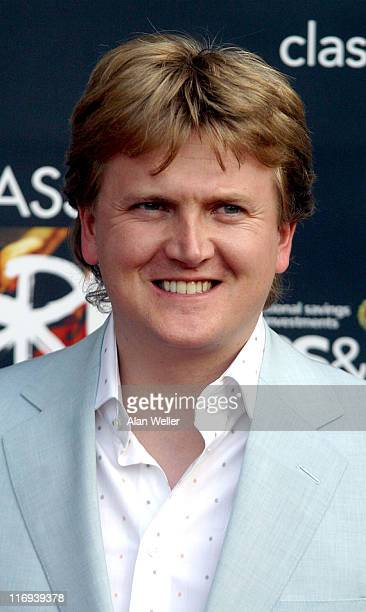 Aled Jones during 2004 Classical BRIT Awards Arrivals at Royal Albert Hall in London Great Britain