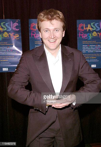 Aled Jones during Classic Response Concert in Aid of SOS Children Tsunami Disaster Fund at Royal Albert Hall in London Great Britain