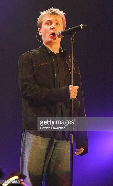 Aled Jones during Tsunami Relief Concert Cardiff Show at Millennium Stadium in Cardiff Great Britain