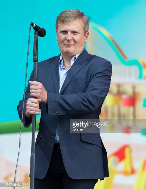 Aled Jones performs on stage during BBC Proms In The Park 2019 at Hyde Park on September 14 2019 in London England