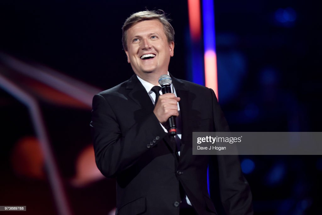 Aled Jones presents the Life Time Achievement Award during the 2018 Classic BRIT Awards held at Royal Albert Hall on June 13, 2018 in London, England.