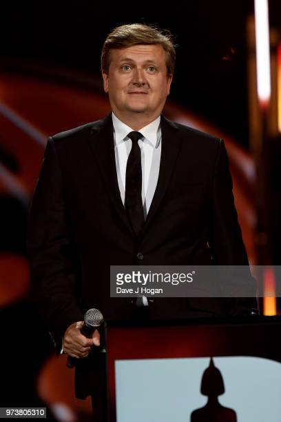 Aled Jones presents the Life Time Achievement Award during the 2018 Classic BRIT Awards held at Royal Albert Hall on June 13 2018 in London England