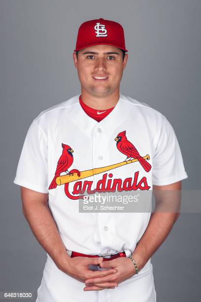 Aledmys Diaz of the St Louis Cardinals poses during Photo Day on Monday February 20 2017 at Roger Dean Stadium in Jupiter Florida