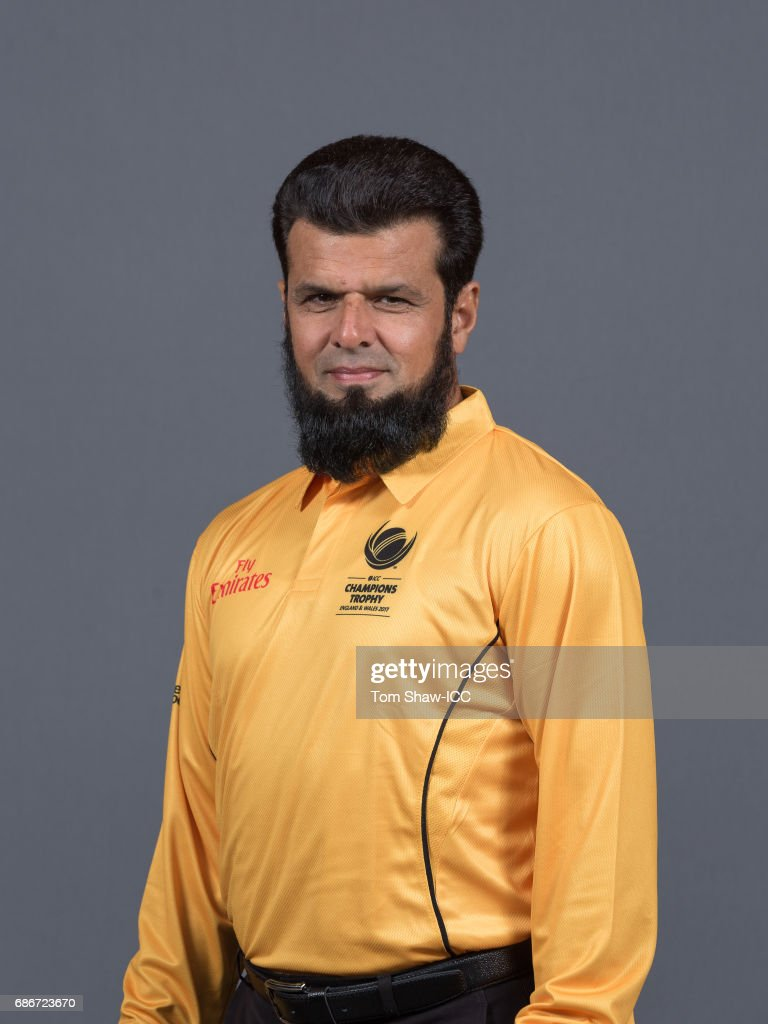 ICC Champions Trophy - Officials Portrait Session