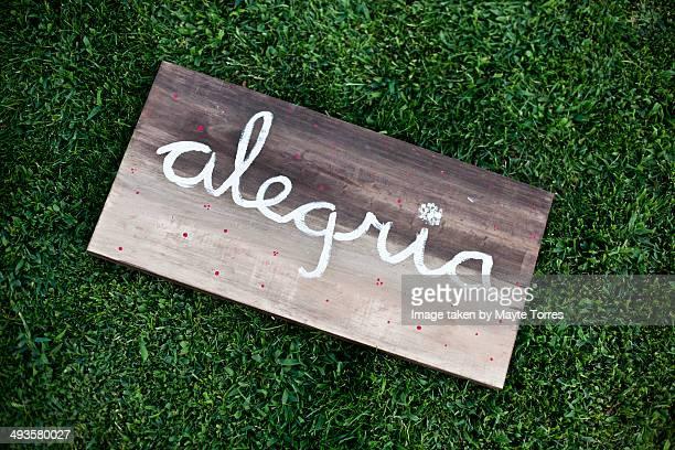 Alegria board