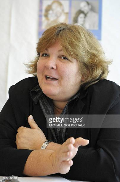 Aleida Guevara March daughter of late Cuban revolutionary leader Ernesto 'Che' Guevara gives a press conference in support of the socalled 'Cuban...