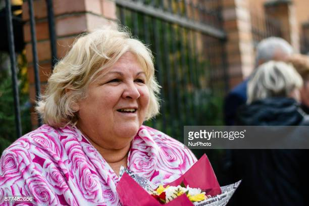 Aleida Guevara March daughter of the revolutionary Ernesto Che Guevara arrived on a one day visit in Varna Bulgaria on November 22 2017 Almeida is...