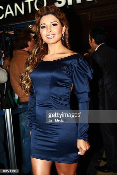 Aleida Nunez attends at the inaguration of Show Center on July 07 2010 in Mexico City Mexico