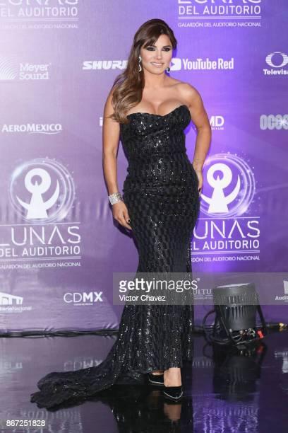 Aleida Nunez attends Las Lunas del Auditorio Nacional 2017 at Auditorio Nacional on October 25 2017 in Mexico City Mexico
