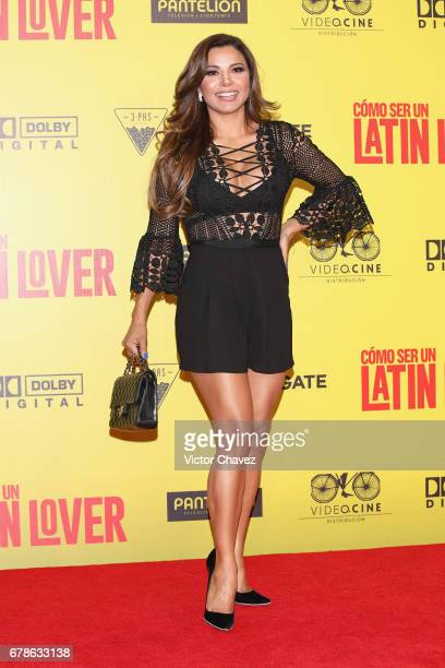 Aleida Nunez attends the How To Be A Latin Lover Mexico City premiere at Teatro Metropolitan on May 3 2017 in Mexico City Mexico