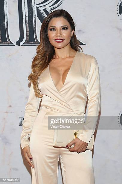 Aleida Nunez attends the Mexico Premiere of the Paramount Pictures BenHur at Metropolitan Theater on August 9 2016 in Mexico City Mexico