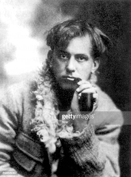 Aleister Crowley english mystic black magus in Victorian England founder of the cabbala here in 1902