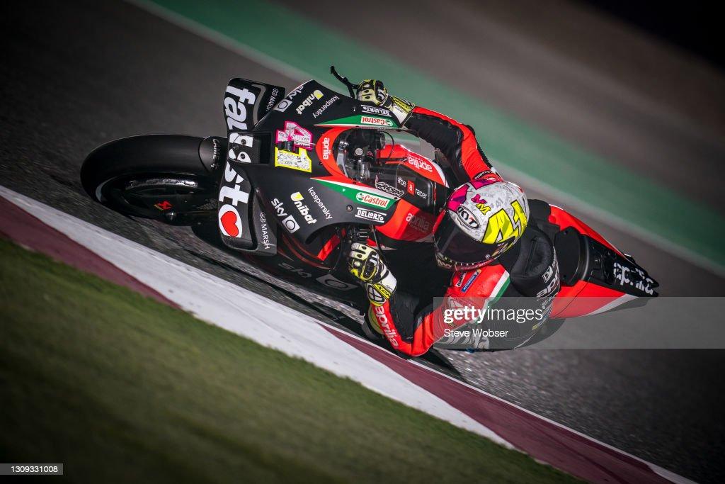 MotoGP of Qatar - Free Practice : News Photo