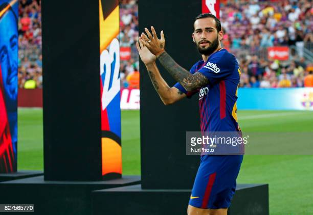 Aleix Vidal during the presentation of the team 201718 in Barcelona on August 07 2017 Photo JoanValls/Urbanandsport/Nurphoto
