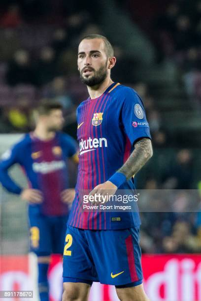 Aleix Vidal of FC Barcelona looks on during the UEFA Champions League 201718 match between FC Barcelona and Sporting CP at Camp Nou on 05 December...