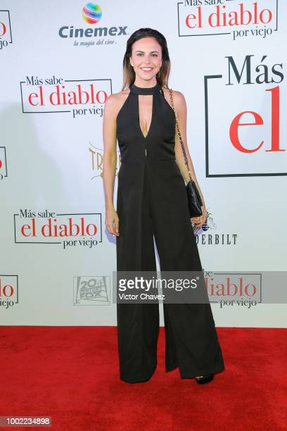 Alejandra Ambrosi attends 'Mas Sabe El Diablo Por Viejo' premiere at Cinemex Antara Polanco on July 19 2018 in Mexico City Mexico