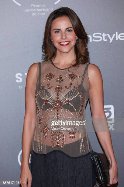 Alejandra Ambrosi attends the Premio Iberoamericano De Cine Fenix 2017 at Teatro de La Ciudad on December 6 2017 in Mexico City Mexico
