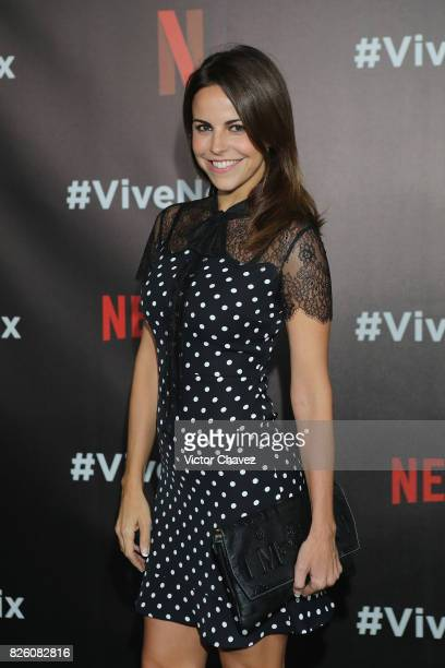 Alejandra Ambrosi attends the Vive Netflix 2017 at Museo Casa de la Bola on August 2 2017 in Mexico City Mexico