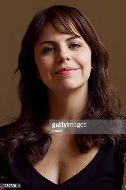 Alejandra Ambrosi poses for a photo during a press conference to present the XLII Diosas de Plata Awards on July 18 2013 in Mexico City Mexico