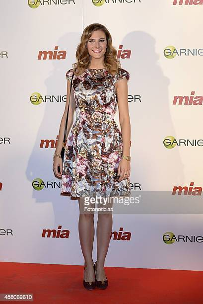 Alejandra Andreu attends the 'Cuida De Ti' charity awards ceremony at the COAM on October 29 2014 in Madrid Spain