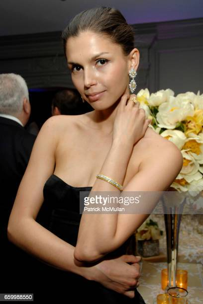 Alejandra attends SUZANNE SAPERSTEIN Hosts Private Cocktail Event at LEVIEV at Leviev on May 14 2009 in New York
