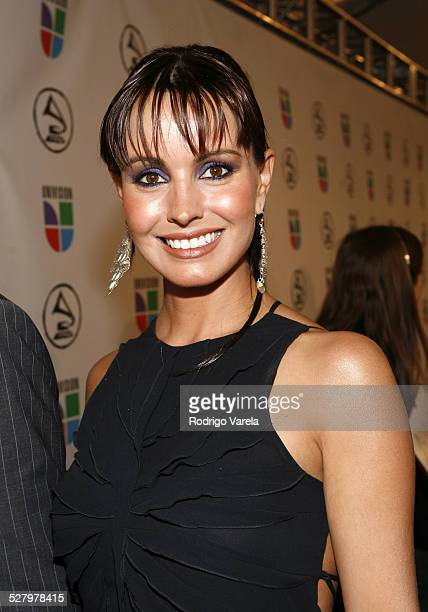 Alejandra Barros during The 7th Annual Latin GRAMMY Awards Red Carpet at Madison Square Garden in New York City New York United States