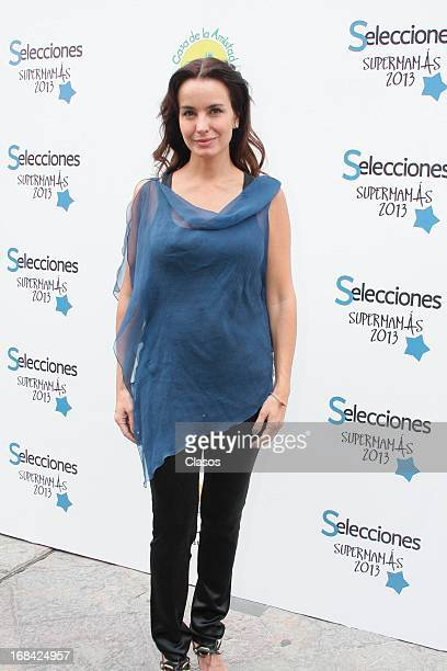 Alejandra Barros poses during the Supermamas Awards 2013 on April 09 2013 in Mexico City Mexico
