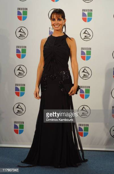 Alejandra Barros presenter during The 7th Annual Latin GRAMMY Awards Press Room at Madison Square Garden in New York City New York United States