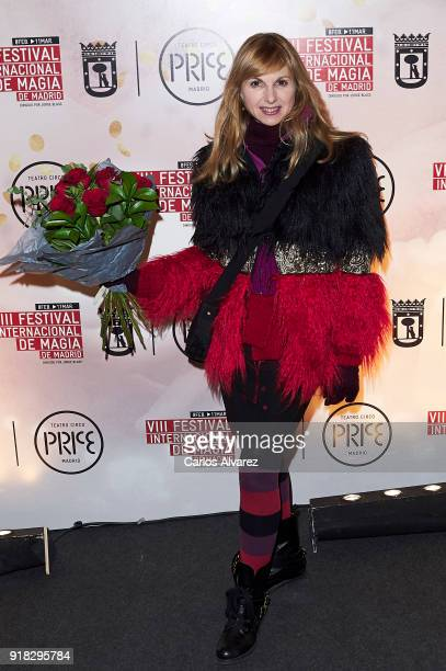 Alejandra Botto attends the Magic International Festival premiere at Circo Price on February 14 2018 in Madrid Spain