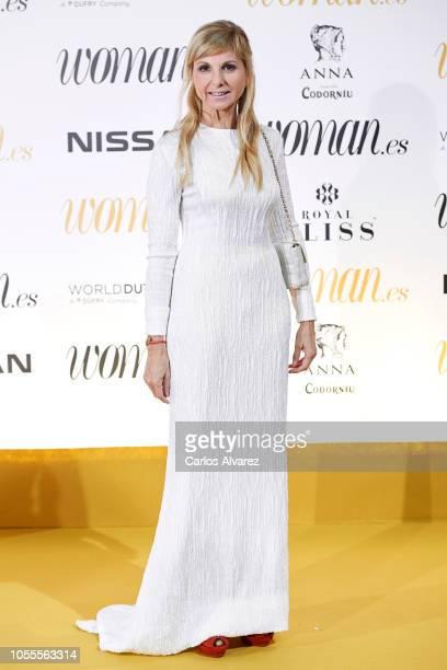 Alejandra Botto attends Woman awards 2018 at the Casino de Madrid on October 30 2018 in Madrid Spain